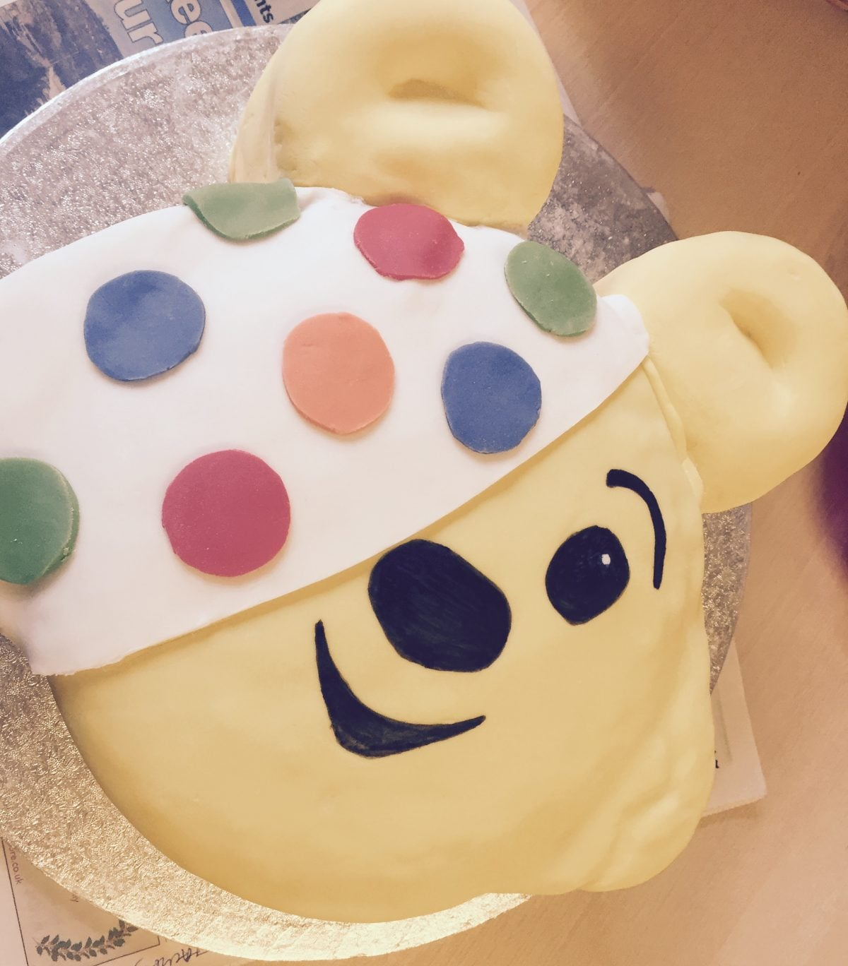 We've Raised £722 for BBC Children in Need!
